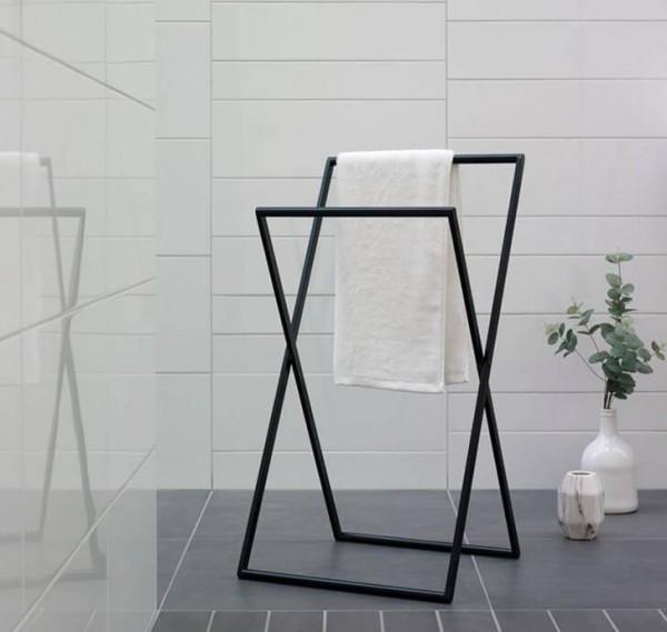 Handtuchhalter stehend Icon-schwarz