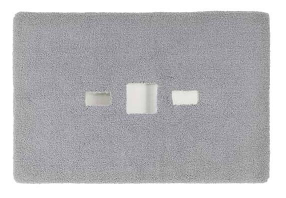 Wunschmaß Badteppich mit Edelstahl-Inlays