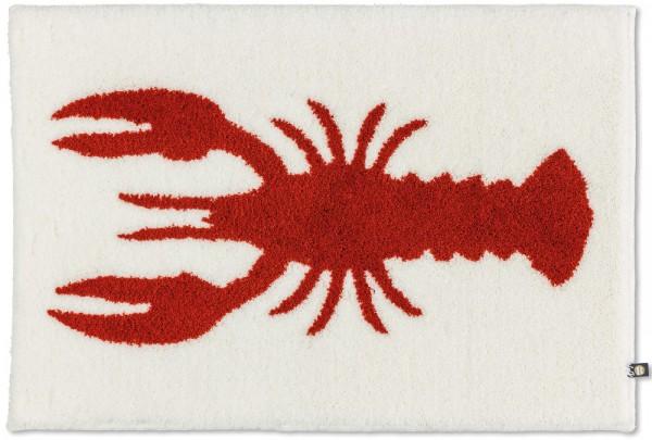 Maß-Badezimmerteppich Lobster