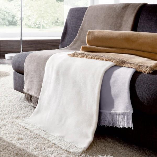 Sesselschoner Cotton Cover uni