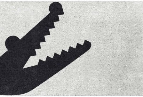 Badezimmerteppich auf Maß Croc