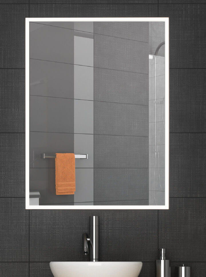 Badezimmerspiegel beleuchtet Cassino