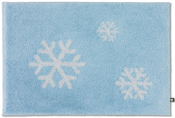 Maßteppich Schneeflocke