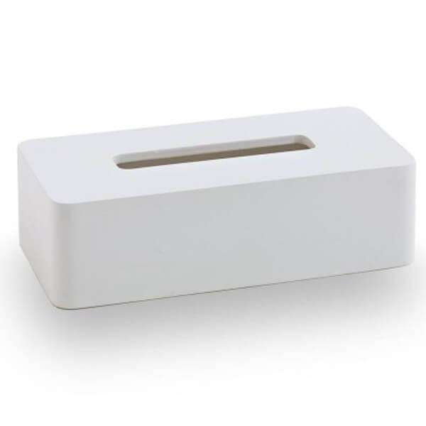 Weiße Kosmetiktücherbox Ona
