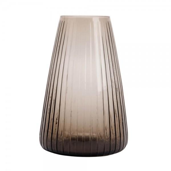 Blumenvase Glas Dim Stripe
