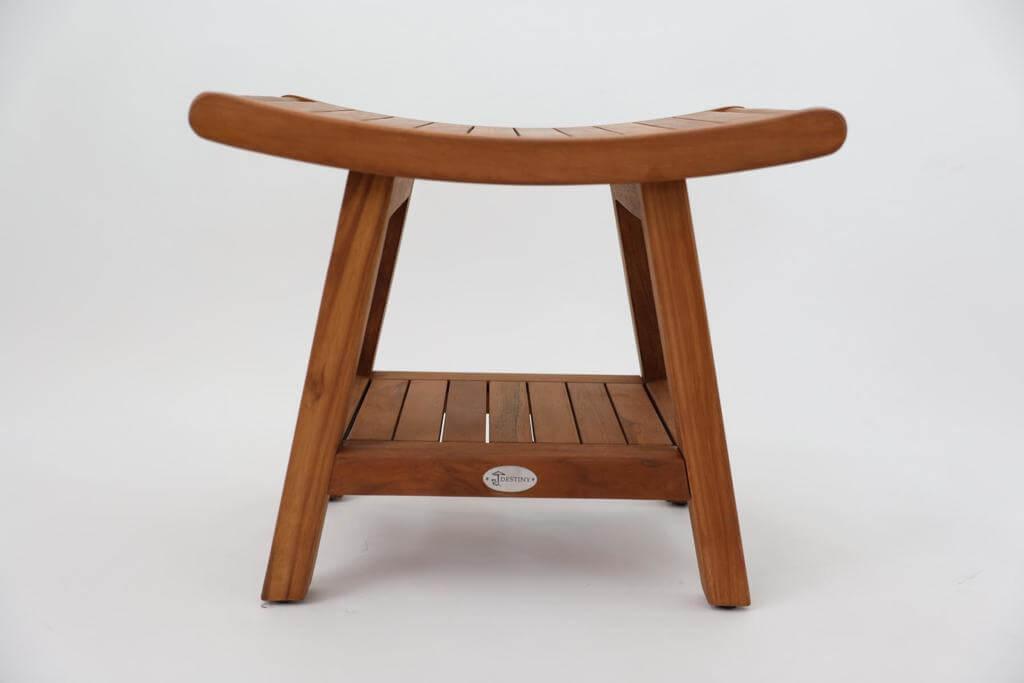 Holz Hocker in Japan Design