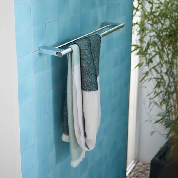 Doppelbadetuchhalter System 2