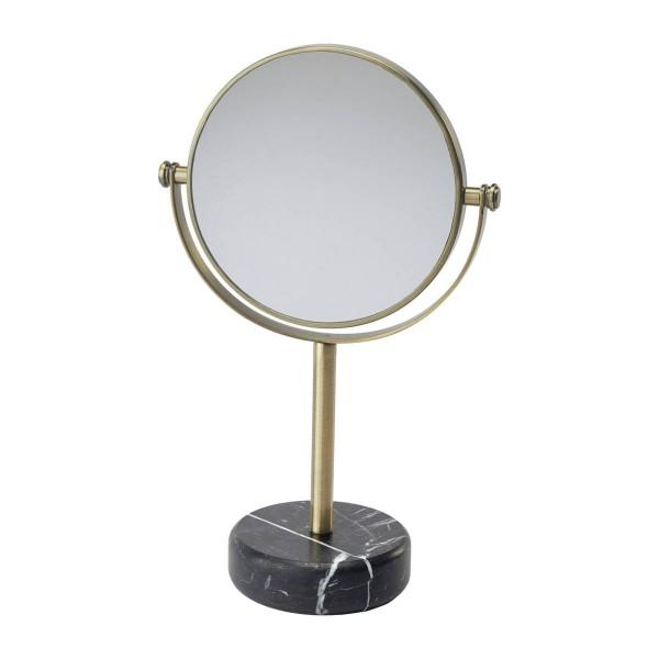 Aquanova Tischspiegel Nero schwarz-gold
