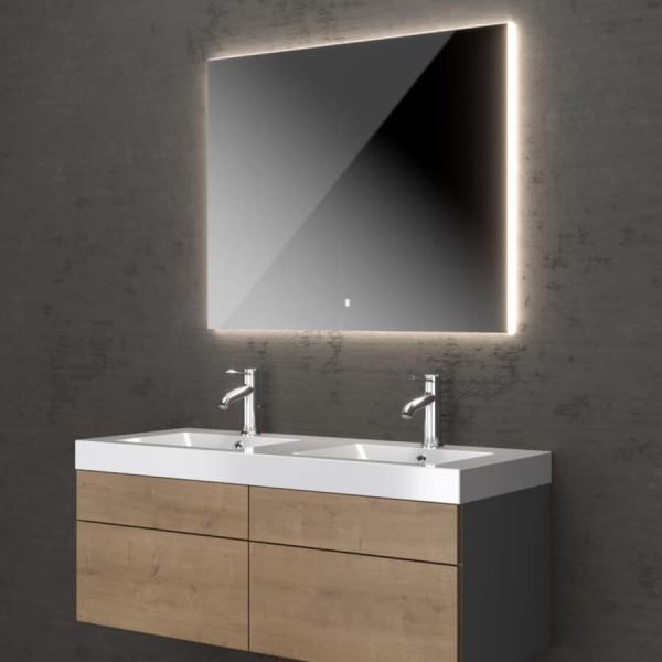 Badezimmerspiegel beleuchtet Tramonto