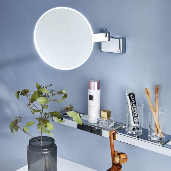 Vergrößerungsspiegel mit Licht Universal | Direktanschluss
