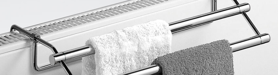 Handtuchhalter Heizung als Platzsparer | dawelba.de