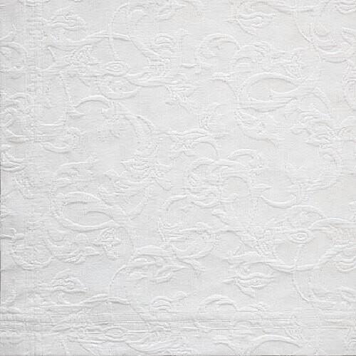Renascenca-Kissenbezug 50 x 50 cm-weiß