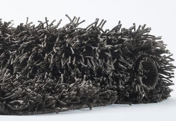 Badezimmermatte Kemen 80 x 160 cm choco