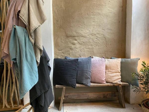 Leinen Kissenbezug 50 x 50 cm Fay