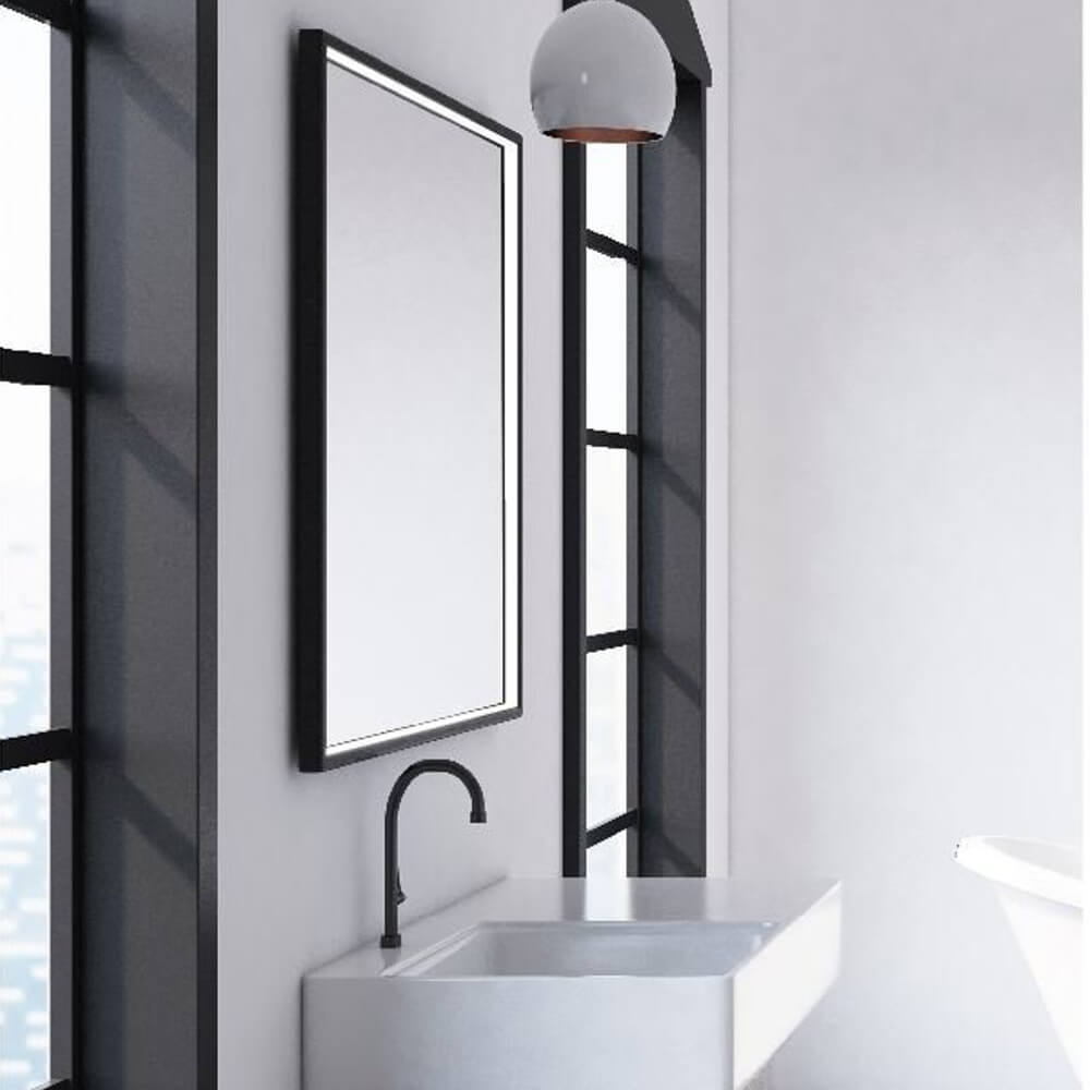 Badezimmerspiegel beleuchtet Neviano