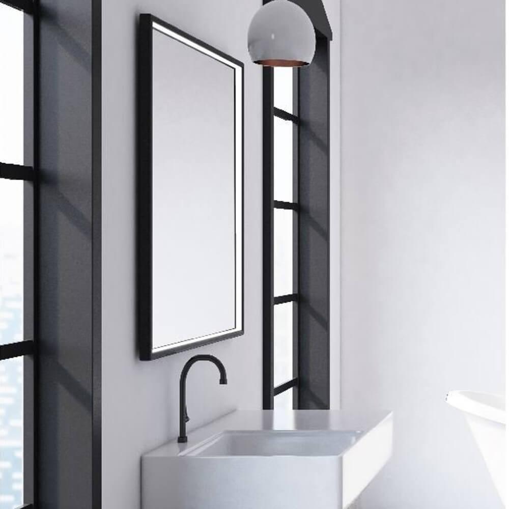 Badezimmerspiegel Beleuchtet Neviano Dawelba De
