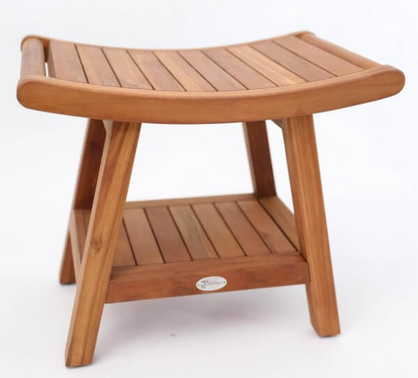 Holz Hocker in Japan Design