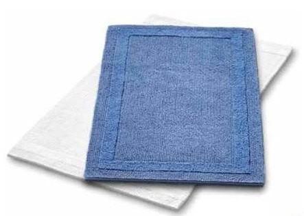 Badteppich auf Maß Baumwolle