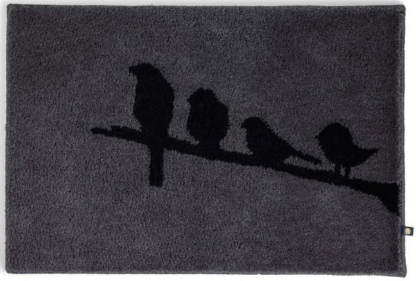 Badteppich auf Maß Birds