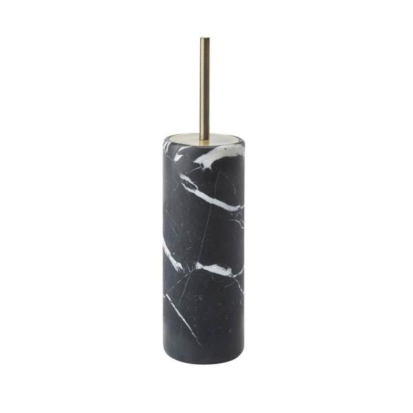 Toilettenbürstengarnitur Nero Marmor schwarz