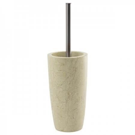 Luxor-Bürstengarnitur-Marmor-matt-creme