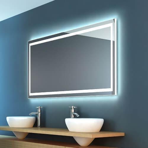 Badspiegel mit LED Ruotare