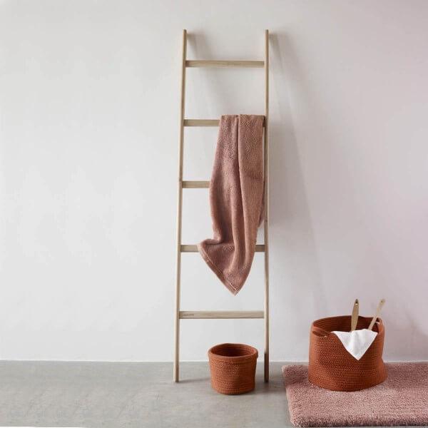 Handtuchleiter Holz Eiche | Mink