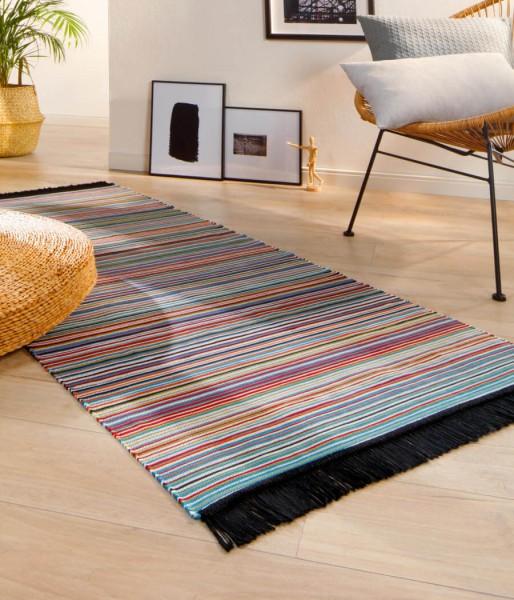 Läufer Teppich modern Casa Stripe