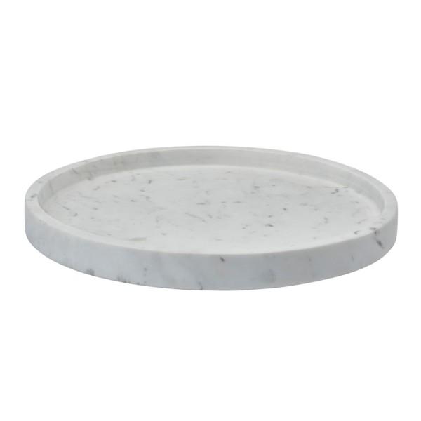 Hammam Ablage Tablett | Marmor braun-rund Ø 30 cm